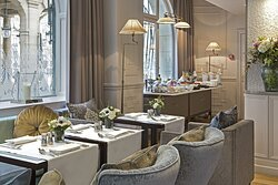 Breakfast room, La Clef Louvre Paris