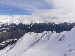 "2256  m, Приют ""Ветров"", хребет Аибга"