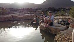 The lake iriki desert swimming pool