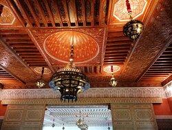 El techo del salóncito.
