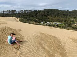 Surreal Sand Boarding Experience