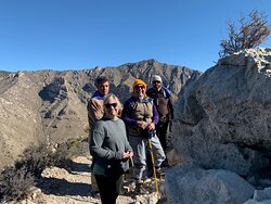Group break atop little Guadalupe