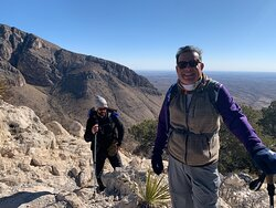 Incredible view from the top of little Guadalupe