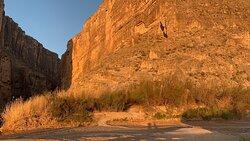 The canyon entrance