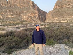 Me in front of the canyon