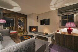 Deluxe Room with fire place