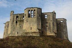 Warkworth, Northumbria, England, United Kingdom, Warkworth Castle - keep.