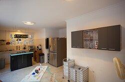 Amplia cocina para todos - Big kitchen for everyone