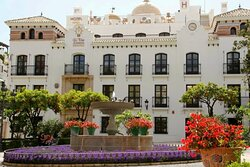 Lovely new hotel right in the centre  Hotel El Pilar Andalucia