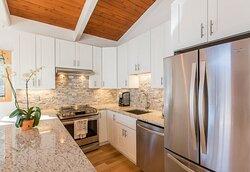 Sample one bedroom kitchen
