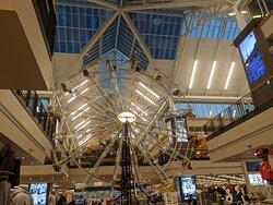 Large Ferris Wheel in center