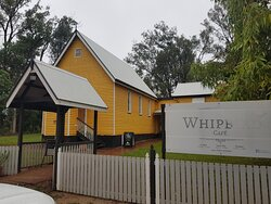 Entry to Whipbird cafe
