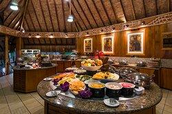 Buffet at the Noa Noa Restaurant