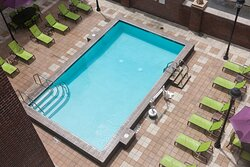 There's nothing like a refreshing dip in our rooftop pool