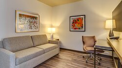 King Suite at the Holiday Inn & Suites in Whatcom County