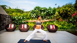 Stretch Yoga at the Spa InterContinental