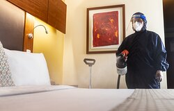Limpieza profunda con altos estándares de sanitización