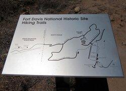 Fort Davis National Historic Site, Fort Davis TX - Hiking Trails