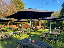 Our large beer garden