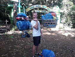 Trekking Mount Rinjani with David