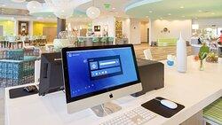 Business Center at the Holiday Inn Resort Fort Walton Beach
