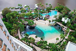 Lagoon View Suite - Balcony View