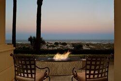 Fire Table Terrace Room