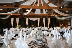 Pavilion space is perfect for elegant banquets or large meetings