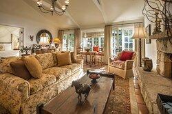 Creek Living Room - Wildflower Garden Cottage