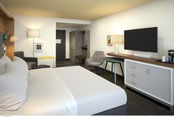 Relax in our Spacious King Bed Rooms