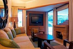 Luxury Villa-Living room and Patio