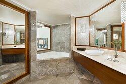 Deluxe and Studio Guest Bathroom