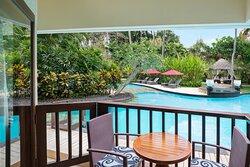 Lagoon Access Balcony Guest Room