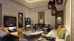 Hotel Rendering - Suite