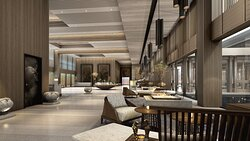 Hotel Rendering - Lobby