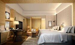 Hotel Rendering - Guest Room