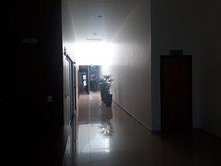 Corredor de acesso a apartamentos