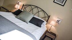 Cosy double bedroom in Dozmary Cottage