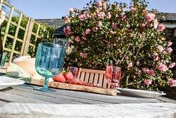 Fancy lunch alfresco in your own enclosed garden?