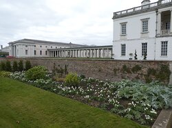 Greenwich Park:    the Herbaceous Border