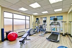 Newly Renovated Fitness Centre
