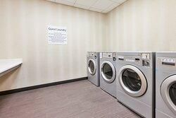 Self-Service Guest Laundry open 6am-11pm.