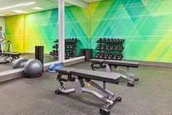Holiday Inn & Suites Toledo Southwest-Perrysburg Fitness Center.