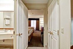 Two Queen Suite Bedroom Entry