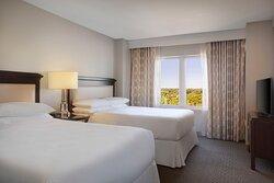 Two-Bedroom Presidential Suite - Double/Double Bedroom