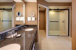 Guest Bathroom - Oversized Walk-In Shower