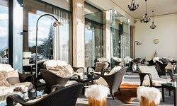 Lobby Lounge Terrace In Winter