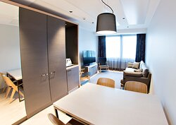 Original Sokos Hotel Alexandra Junior Suite Livingroom