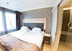 Original Sokos Hotel Alexandra Junior Suite Bedroom