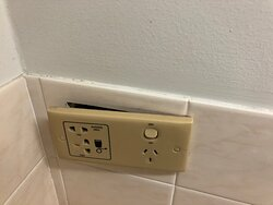 Unsafe power point.